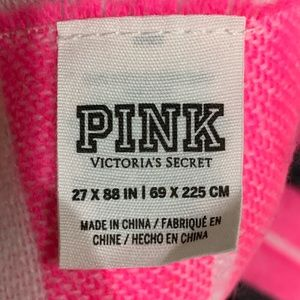 PINK Accessories - VS pink over size scarf